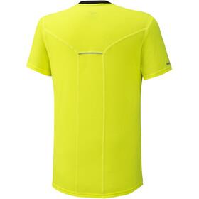 Mizuno Dry Aeroflow T-Shirt Homme, safety yellow